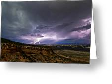 Lightning 32 Greeting Card