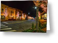 Lights Down Fairhope Ave Greeting Card