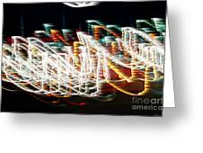 Lights In The Wind I Greeting Card