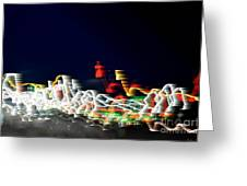 Lights In The Wind II Greeting Card