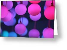 Lights Of Love Greeting Card