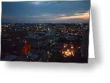Lights Of San Antonio Tx  Greeting Card