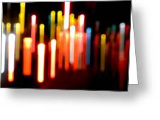 Lights Party Greeting Card