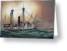 Lightship Swiftsure Greeting Card