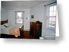 Ligthouse Bedroom At Drum Point Greeting Card