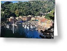 Liguria - Portofino Greeting Card