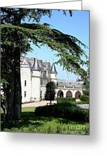 Like A Fairytale - Chateau Amboise Greeting Card