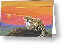 Lil' Leopard Greeting Card