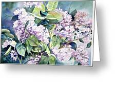 Lilac Delight Greeting Card