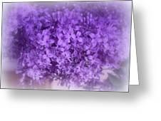 Lilac Fantasy Greeting Card