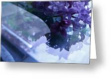 Lilac Glass Greeting Card