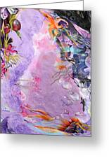 Lilac Goldfish Greeting Card