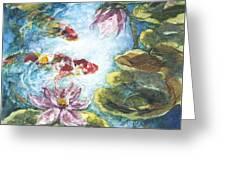 Lilies #3 Greeting Card