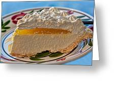 Lilikoi Cheese Pie Greeting Card by Dan McManus