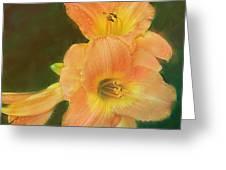 Lilly Enhanced Greeting Card