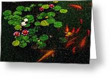 Lily 0147 - Pastel Pencil 1 Sl Greeting Card