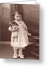 Lily 1919 Greeting Card