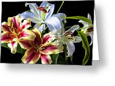 Lily Bouquet Greeting Card by Garry Gay