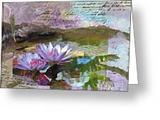 Lily Pad Sisters Greeting Card
