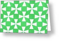 Lime Twirl Greeting Card
