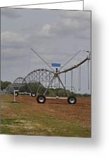 Limestone County Crop Irrigation Greeting Card