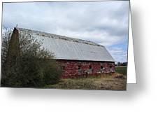 Limestone County Red Barn Greeting Card