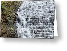 Limestone Falls 2 Greeting Card