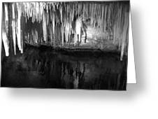 Limestone Icicles Greeting Card