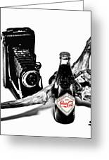 Limited Edition Coke - No.008 Greeting Card