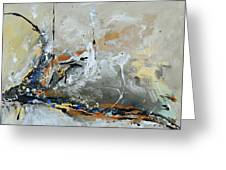 Limitless 1 - Abstract Painting Greeting Card