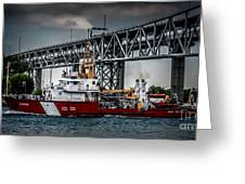 Limnos Coast Guard Canada Greeting Card