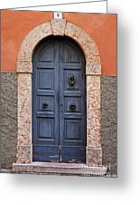 Limone Door Greeting Card