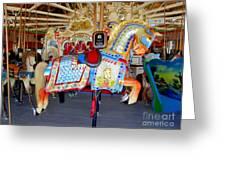 Lincoln Centennial Horse Greeting Card