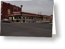 Lincoln Diner Greeting Card
