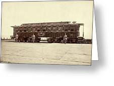 Lincoln Funeral Car, 1865 Greeting Card