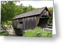 Lincoln Gap Covered Bridge Greeting Card