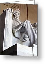 Lincoln II Greeting Card