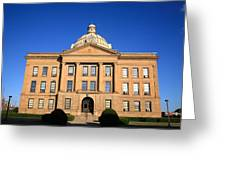 Lincoln Illinois - Courthouse Greeting Card