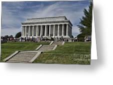 Lincoln Memorial Greeting Card