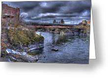 Lincoln Street Bridge 2013 Greeting Card