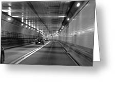 Lincoln Tunnel Drive  Greeting Card
