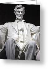 Lincoln1 Greeting Card