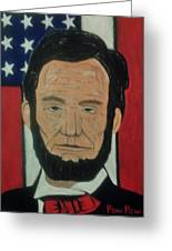 Lincoln3 Greeting Card