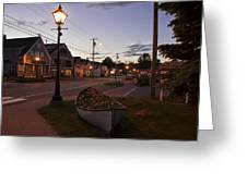 Lincolnville Maine Greeting Card