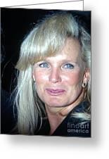 Linda Evans 1991 Greeting Card