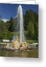 Linderhof Fountain Greeting Card