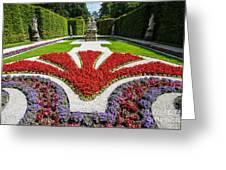 Linderhof Palace Gardens - Bavaria - Germany Greeting Card