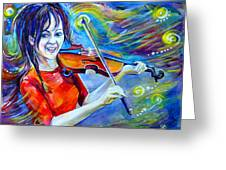Lindsey Stirling Magic Greeting Card