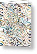 Line Movement Greeting Card
