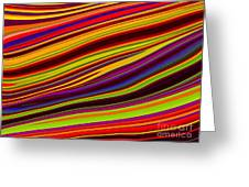 Linear Abstract Greeting Card by Imani  Morales